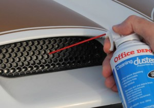 Canned Air Detailing Tip