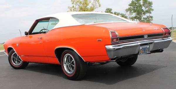 1969-Chevelle-SS396-rear
